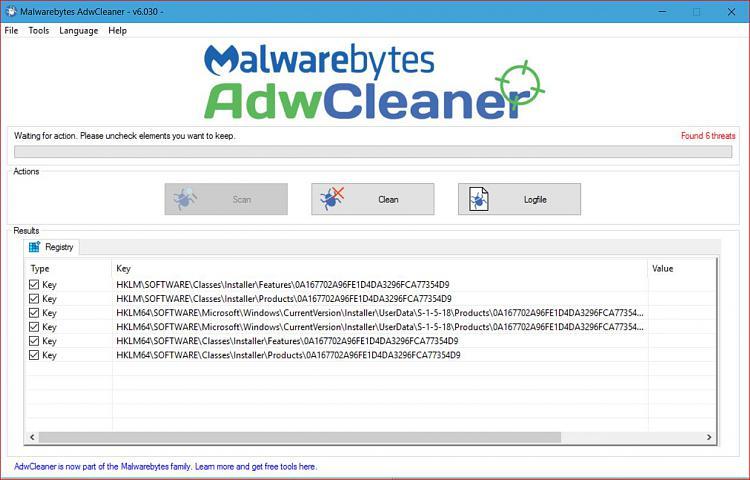 adw cleaner ghosts windows 10 forums rh tenforums com