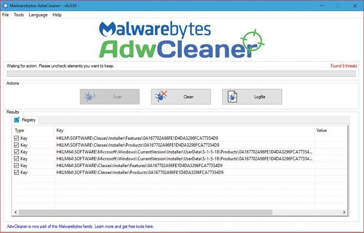 Another false positive for AdwCleaner 6 030 today - Page 2