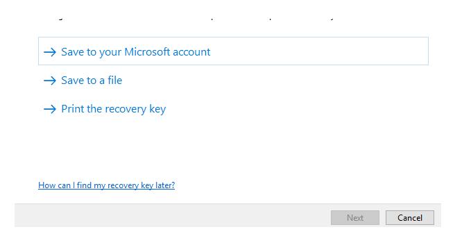 Insert USB Storage Media to unlock BitLocker taken away in W10