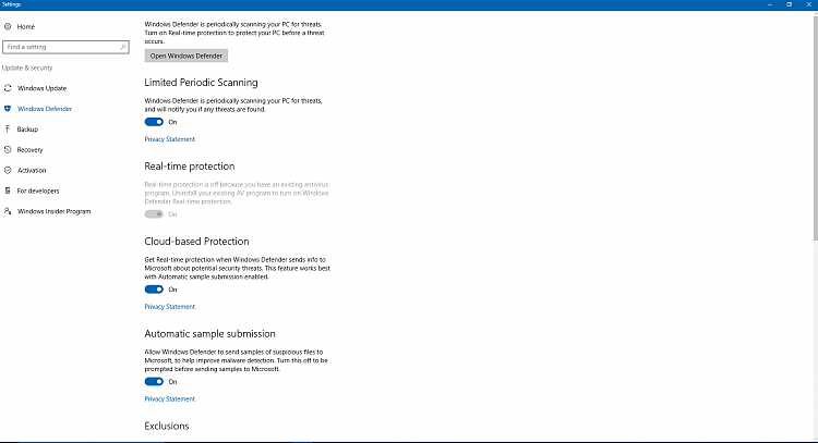 Windows Defender - Some Settings Are Managed by your Organization-proof23.png