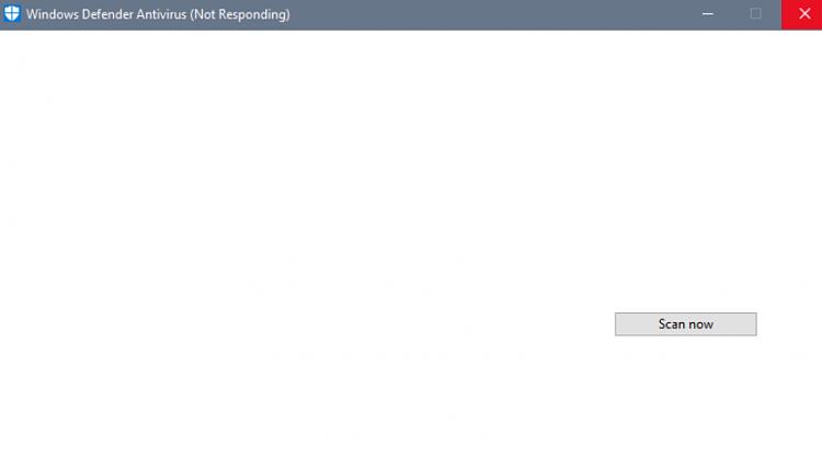 Defender UI Delayed: Not responding build 15063.13-15063.13.png