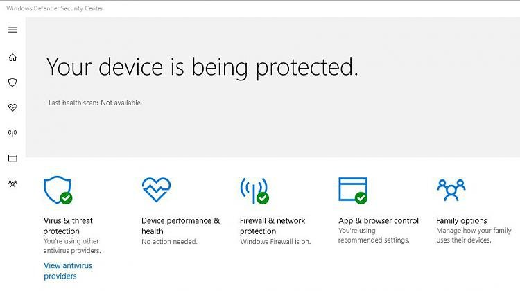 How to Remove Windows Defender Security Center icon from