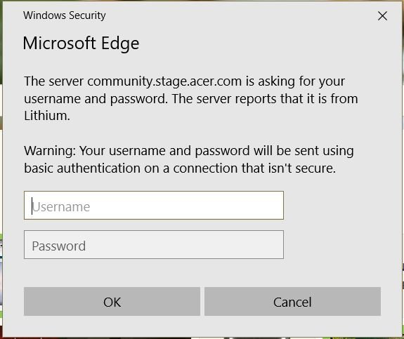 Security message Solved - Windows 10 Forums