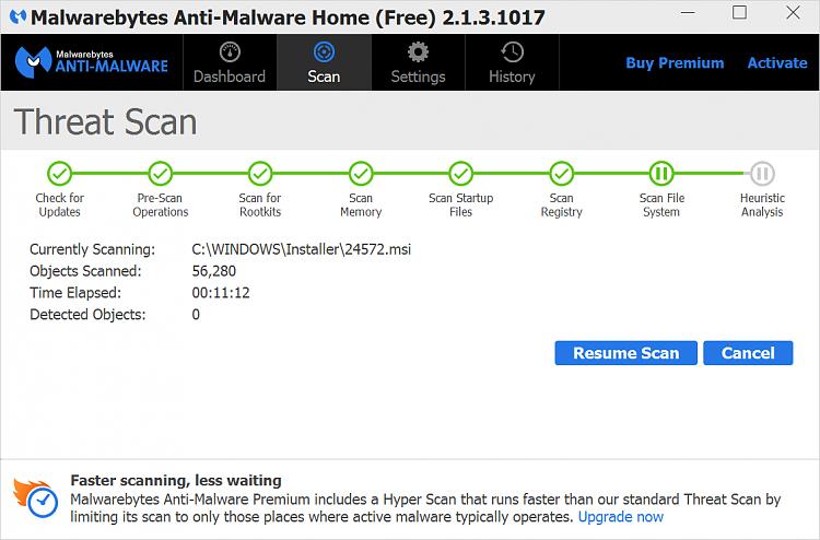 activate malwarebytes 3.2.2