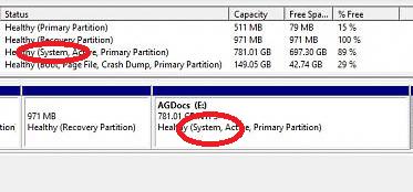 Bitlocker not encrypting document partition (Windows 10 Pro