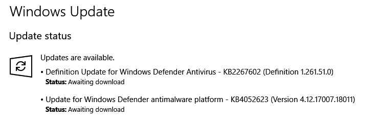 Click image for larger version.  Name:Anti-malware update 19 Jan 18.PNG Views:94 Size:13.9 KB ID:173392