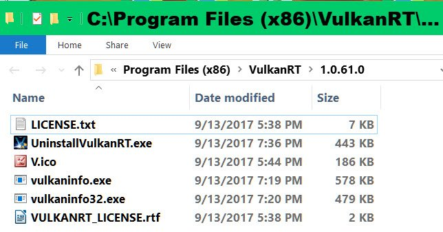 Click image for larger version.  Name:VulkanRT Files.jpg Views:48 Size:86.9 KB ID:173855