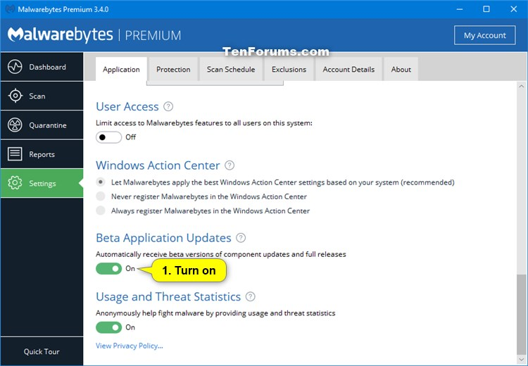 Click image for larger version.  Name:Malwarebytes_beta-1.jpg Views:36 Size:66.7 KB ID:176952