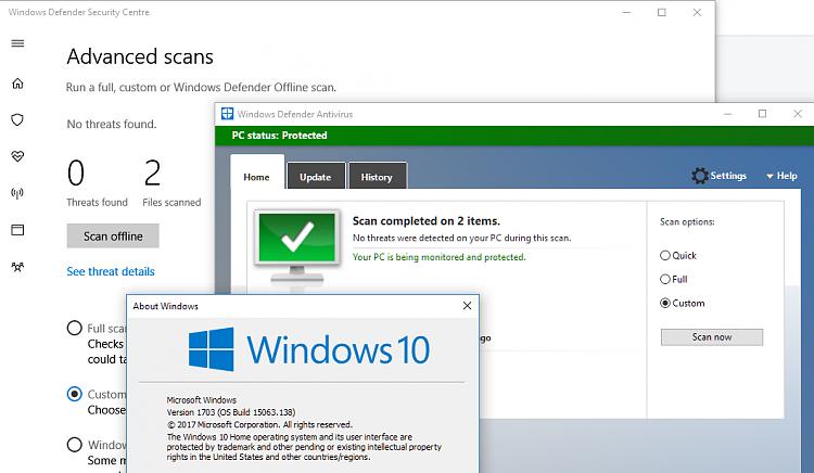 How to restore Windows Defender blocked files?! - Windows 10 Forums