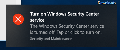 """Disabling """"Turn on Windows Security Center service"""" popup-untitfndled.png"""