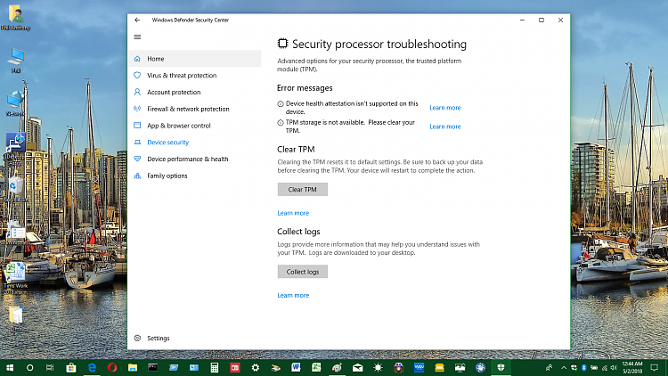 TPM Trusted Platform Module Issue - Windows 10 Forums