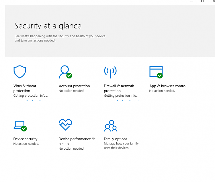Windows Defender Security Centre slow since 1803 update