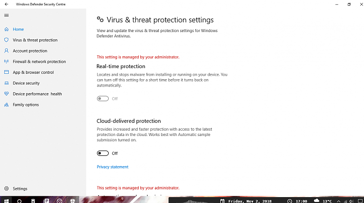 """""""This setting is managed by your administration"""" Windows Defender-screenshot_2.png"""