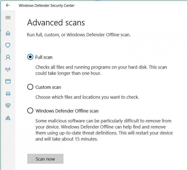 Windows 10 Defender scanning downloaded files - Windows 10