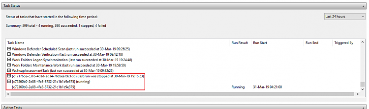 How do I find a task I believe is related to coinminer malware?-image.png