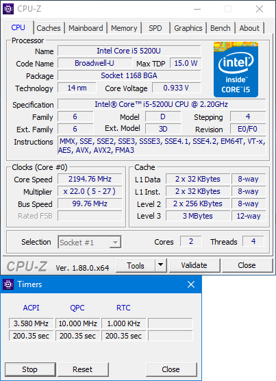 Click image for larger version.  Name:CPU-zTimers.png Views:15 Size:43.2 KB ID:230662