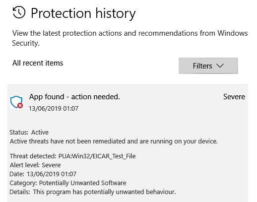 Windows 1903. Spyware and Unwanted Software Protection missing.-image.png