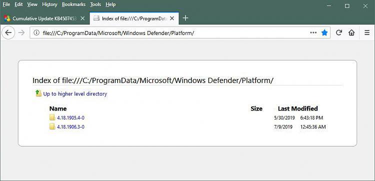 Ways to check your current Defender Antimalware Platform Version-windowsdefenderplatformfolders.jpg