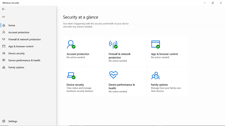 I can't see (Virus & Threat Protection) Under my Windows 10 Security-viral0001.png