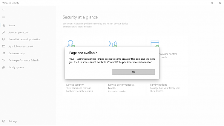 I can't see (Virus & Threat Protection) Under my Windows 10 Security-viral0002.png