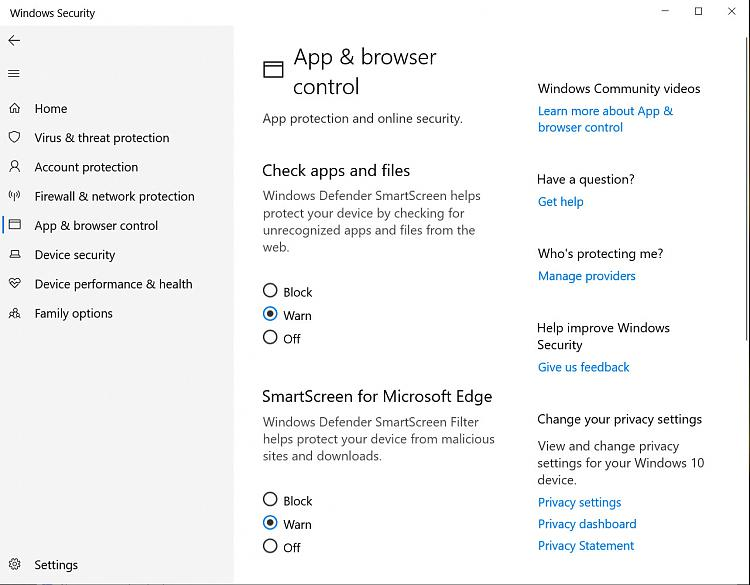 Taming Windows Defender - How To Allow Unrecognized Apps On My PC-security.jpg