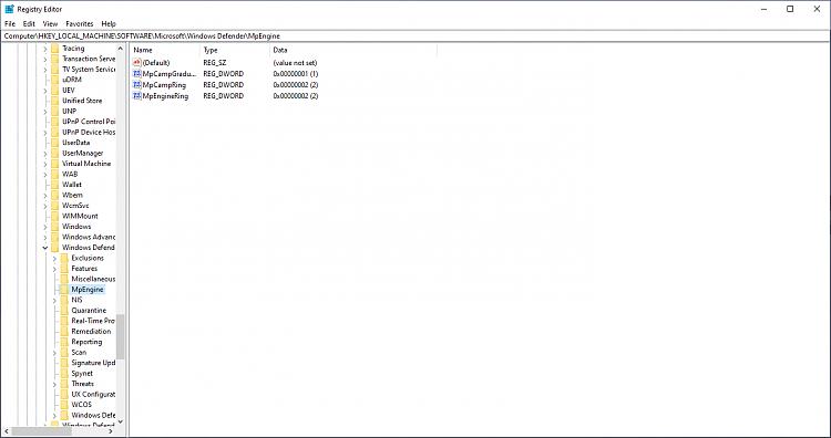 MS Antimalware Platform 4.18.2001.6 only on one PC-defender.png