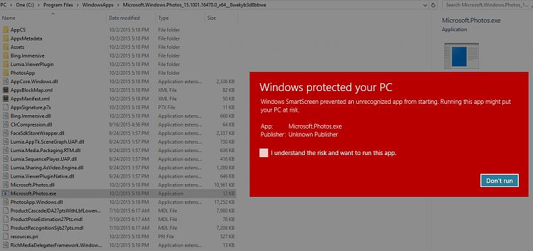 Windows 8.1 Pro >> Microsoft.Photos.exe Virus? - Windows 10 Forums