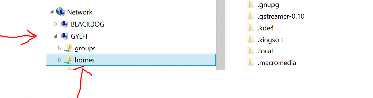 Windows Firewall -- can't access WINDOWS from LINUX