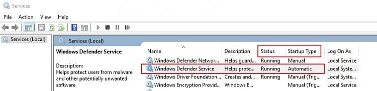 Click image for larger version.  Name:Windows Defender service.jpg Views:2 Size:133.4 KB ID:62780
