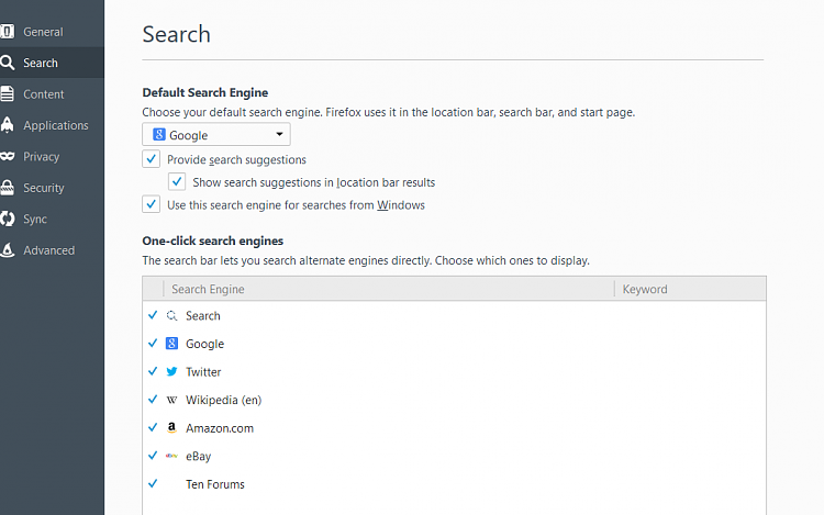 Click image for larger version.  Name:FF Search Settings.PNG Views:5 Size:39.7 KB ID:65312