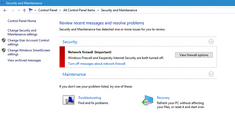 how to disable kaspersky internet security