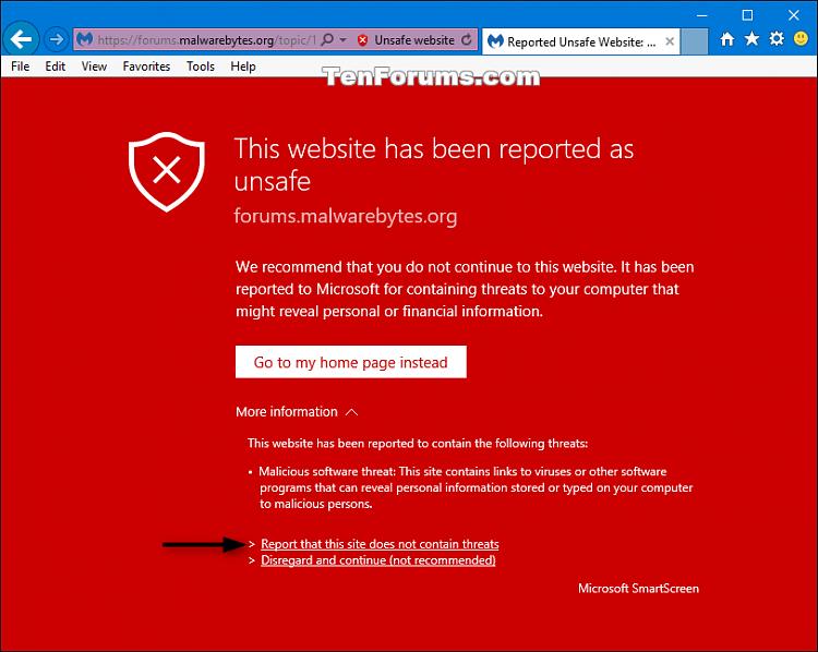 Latest Version of Malwarebytes Anti-Ransomware-smartscreen.png