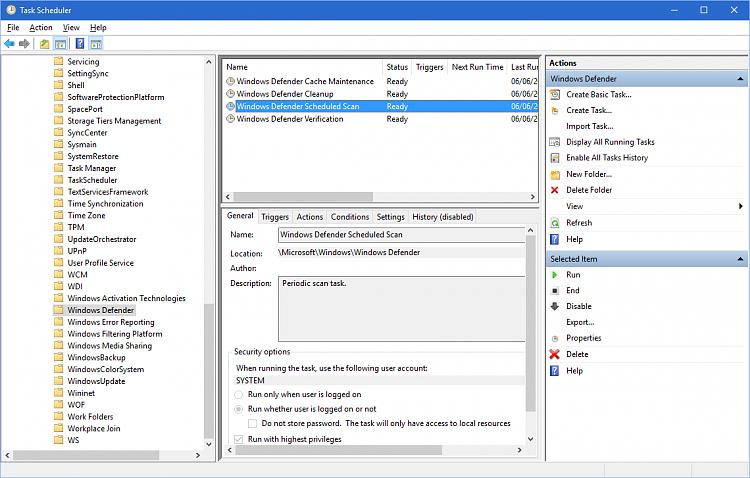Windows defender freezes windows 10 | Windows 10  2019-05-01