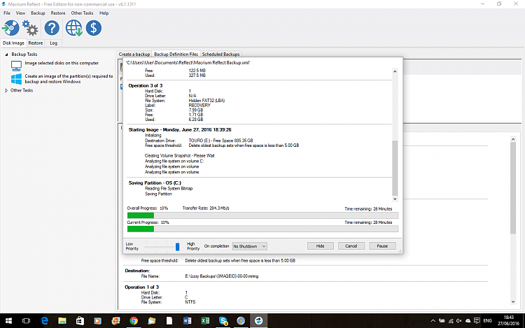What extra software do I need with Windows 10-backup-progress.png