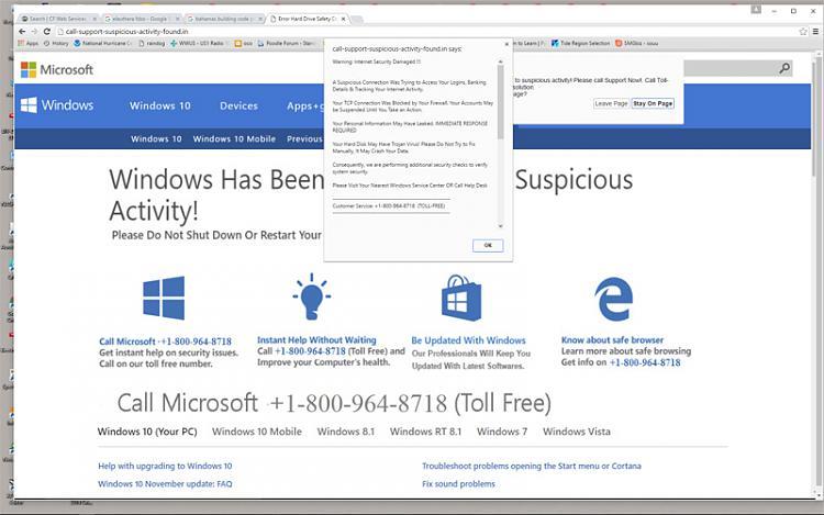 """""""Suspicious Activity"""" Popup?-scam.jpg"""
