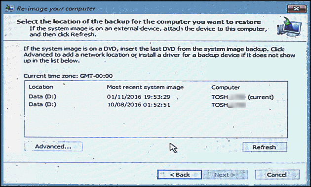 Can I create multiple system images on a single external drive?-system-images.png