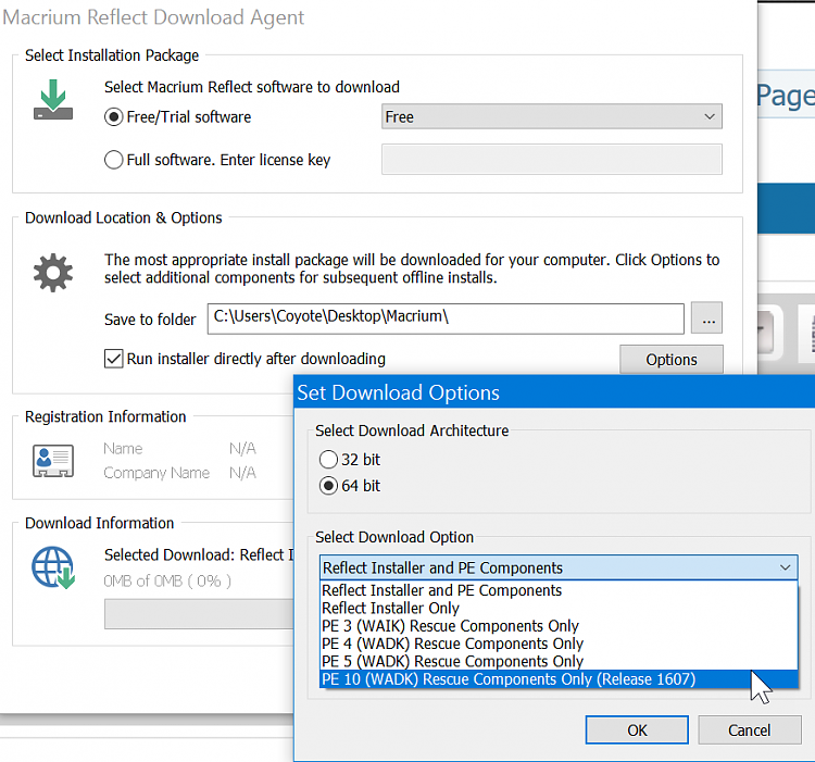Macrium Reflect Winpe components - Page 4 - Windows 10 Forums
