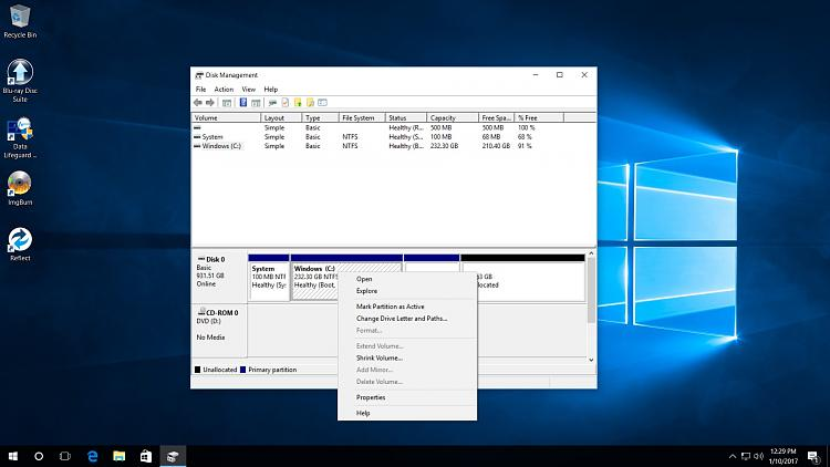 Click image for larger version.  Name:Disk Management after Macrium clone.jpg Views:6 Size:246.0 KB ID:116539