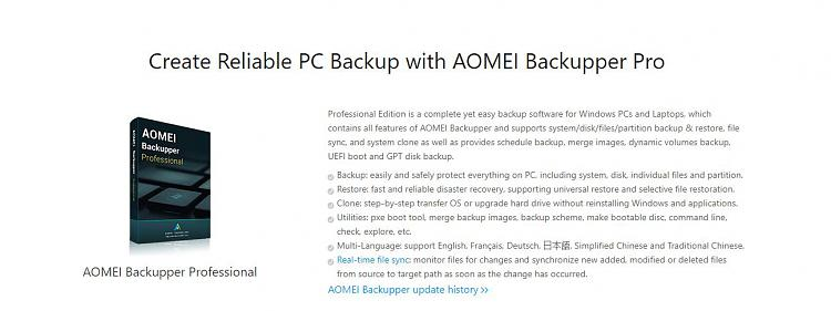 aomei backupper professional 4.1 license key