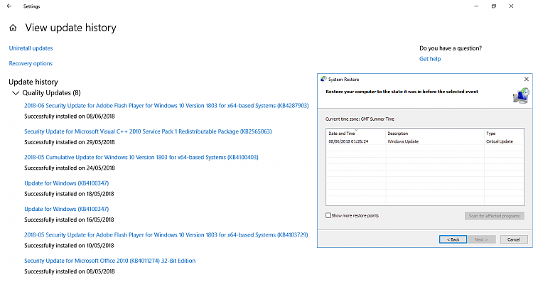 Click image for larger version.  Name:Windows update & restore points 1803.PNG Views:2 Size:70.3 KB ID:191868