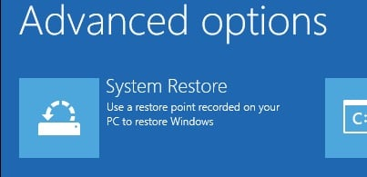 System Restore did not complete successfully    - Windows 10 Forums