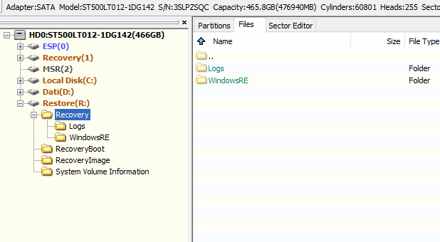 Unable to use ASUS recovery partition, f9 is not working-grabilla.hp5692.png
