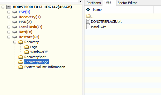 Unable to use ASUS recovery partition, f9 is not working-grabilla.q10656.png