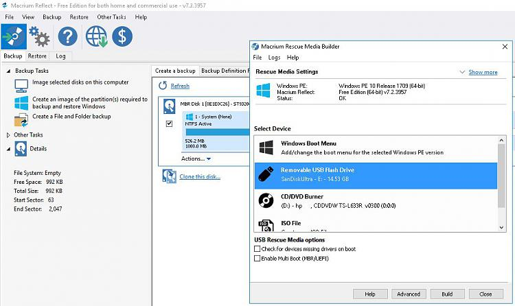 Click image for larger version.  Name:Initiate USB Macrium Rescue Media Builder.JPG Views:0 Size:101.9 KB ID:220958