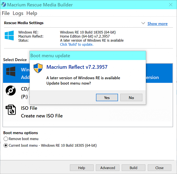 Paragon Backup and Recovery 17 - New - Page 4 - Windows 10