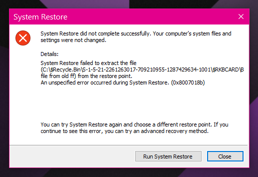 System Restore Wont Work - Can't Extract a Certain FIle.. HELP!-restiore-msg.png