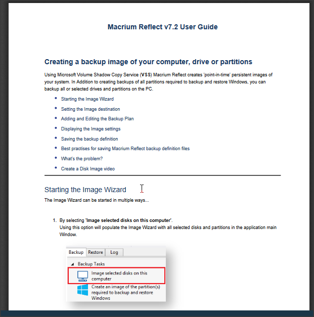 Where is the easiest tutorial for the current 2020 Macrium Reflect ?-1.png