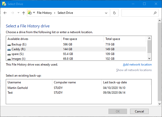 I use File history for backup-fh1.png