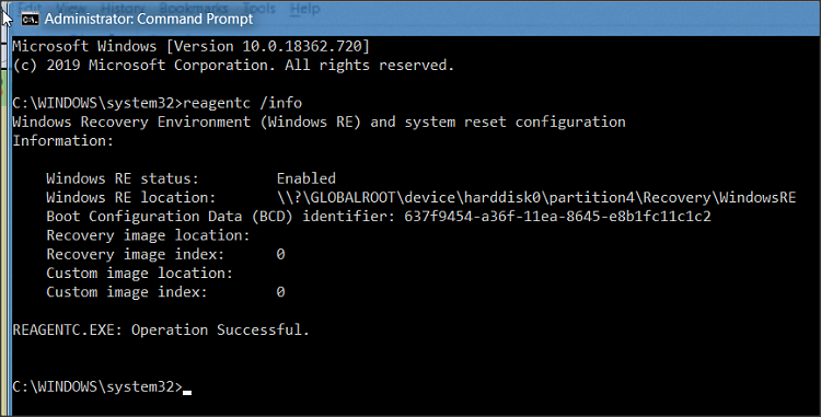 Macrium Reflect Free adds a second Recovery partition when I restore-1.png