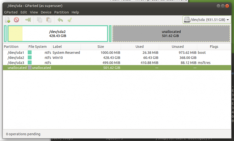 Macrium Reflect Free adds a second Recovery partition when I restore-screenshot-ssd-disk-0.png